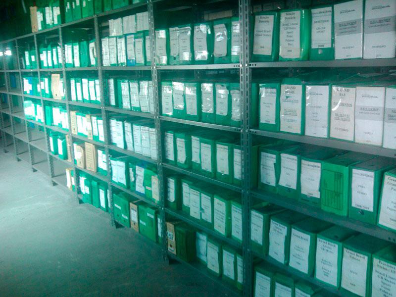 Incineração de documentos sp