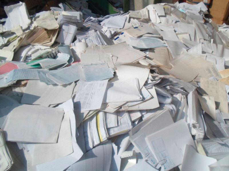 Serviço de destruição de documentos