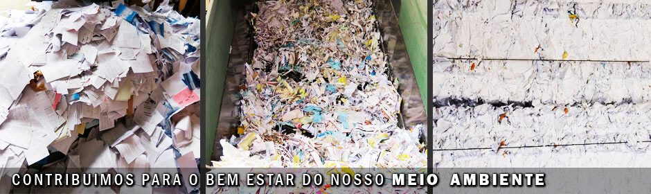 Serviço de reciclagem de papel